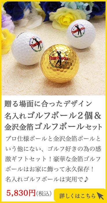 プロボール2個+金箔ボール