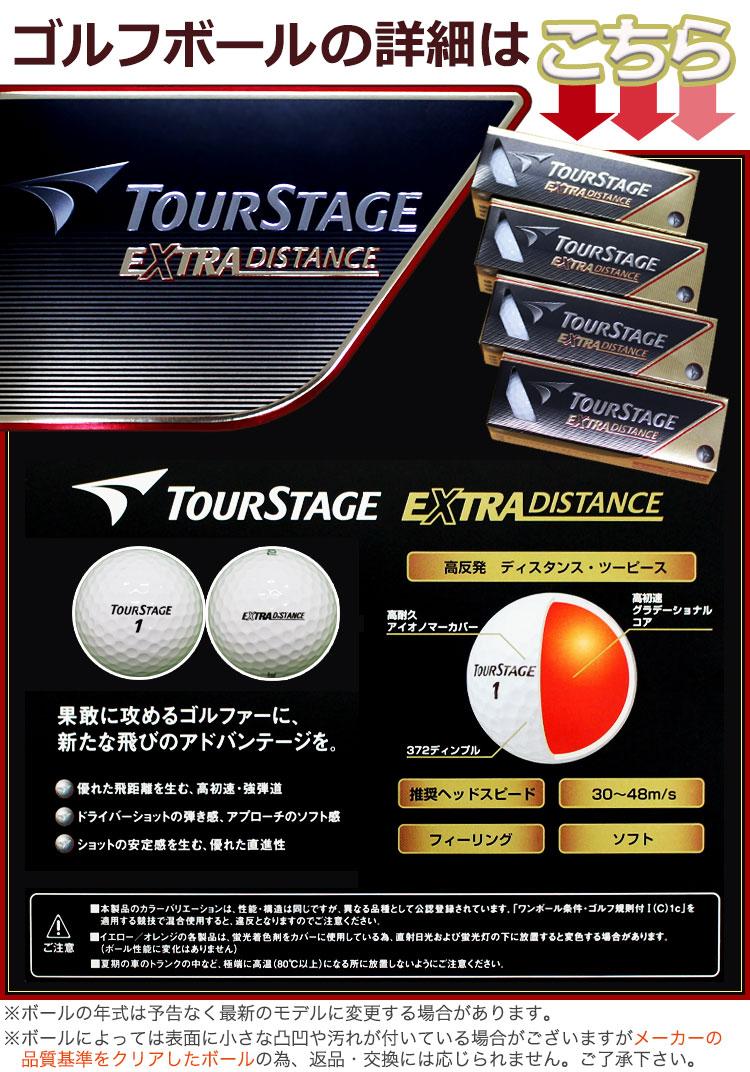 ツアーステージ ボール説明