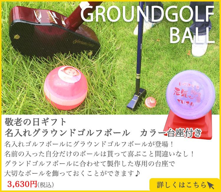 グラウンドゴルフボール