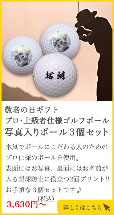 プロ仕様写真ボール3個