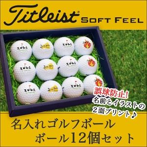 【プロ仕様】名入れゴルフボール3個&グリーンフォーク「PRO」&ゴルフマーカーセット